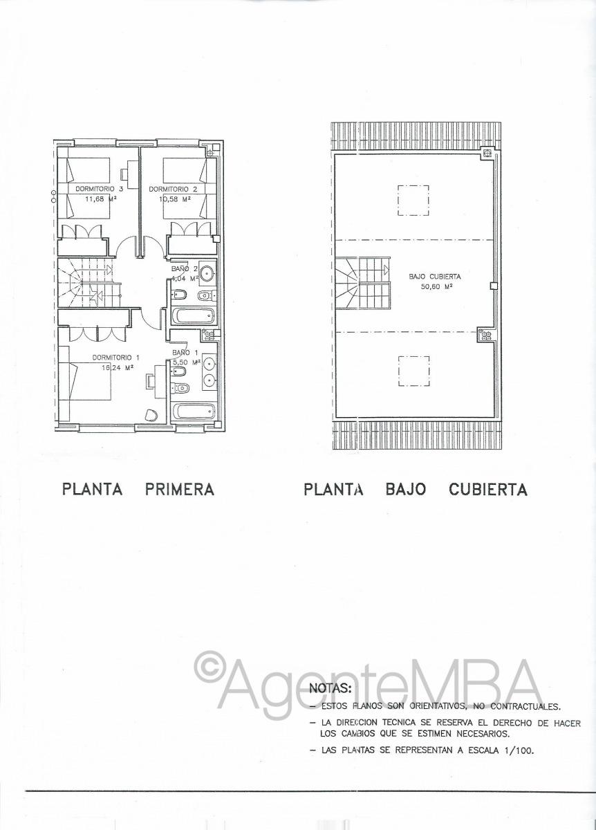 34-chalet-pareado-boadilla-del-monte-Miguel-Angel-Cantero-Oliva-Croquis-planta-1-y-bajo-cubierta